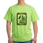 Buff Bellied Hummingbirds Green T-Shirt