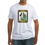 Buff Bellied Hummingbirds Fitted T-Shirt