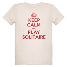 Keep Calm Play Solitaire T-Shirt