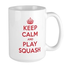 Keep Calm Play Squash Mug