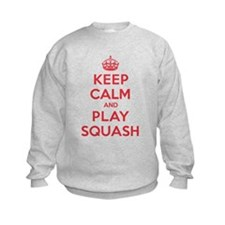 Keep Calm Play Squash Sweatshirt