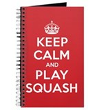 Keep Calm Play Squash Journal