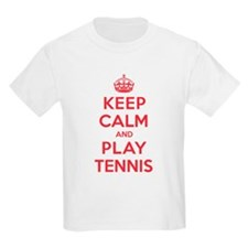 Keep Calm Play Tennis T-Shirt