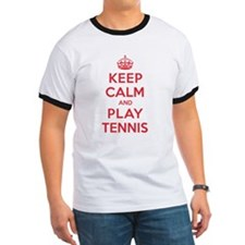 Keep Calm Play Tennis T