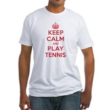 Keep Calm Play Tennis Shirt
