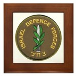 Israel Defense Forces Framed Tile