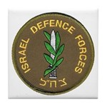 Israel Defense Forces Tile Coaster