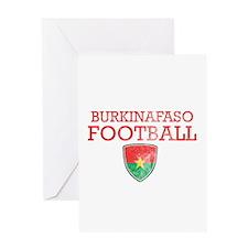 Burkina Faso Football Greeting Card