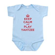 Keep Calm Play Yahtzee Onesie