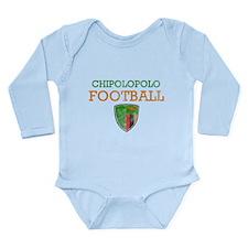 Zambia Football Long Sleeve Infant Bodysuit