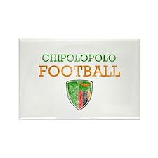 Zambia Football Rectangle Magnet