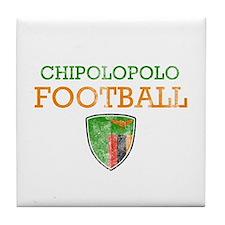 Zambia Football Tile Coaster