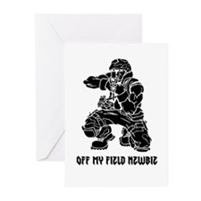 Off My Field Newbie Greeting Cards (Pk of 10)