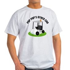 PopPop Golf Cart T-Shirt