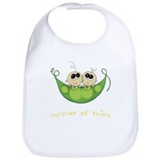Mother of Twins, Boy/Boy Bib