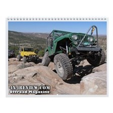 Cute Off road Wall Calendar