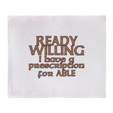 Cool Ready able Throw Blanket
