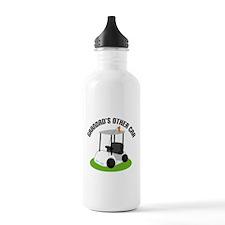 Grandad Golf Cart Water Bottle