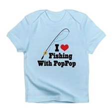 I Love Fishing With PopPop Infant T-Shirt