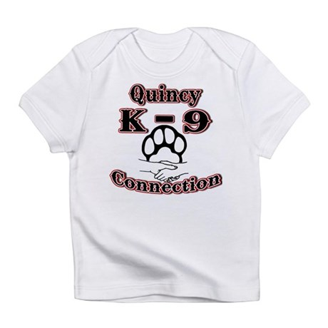 Quincy K-9 Connection Logo Infant T-Shirt