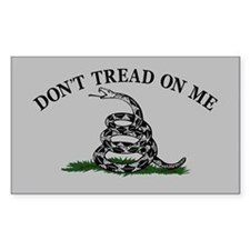 Dont Tread On Me - Grey Decal