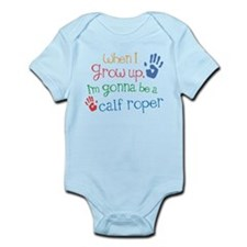 Future Calf Roper Infant Bodysuit