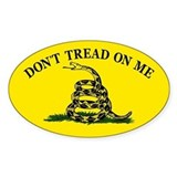 Dont Tread On Me Stickers