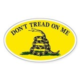 Dont Tread On Me Classic Decal