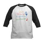 Future Bookkeeper Kids Baseball Jersey