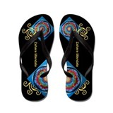 Indian Journey Mandala - Flip Flops