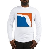 Florida Colors (Gators) Long Sleeve T-Shirt