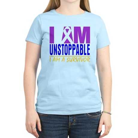Unstoppable Bladder Cancer Women's Light T-Shirt