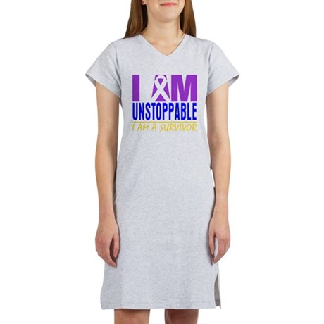 Unstoppable Bladder Cancer Women's Nightshirt
