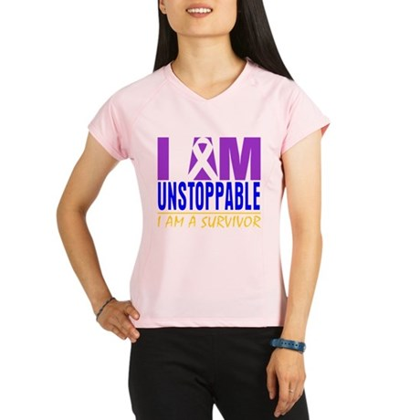 Unstoppable Bladder Cancer Performance Dry T-Shirt