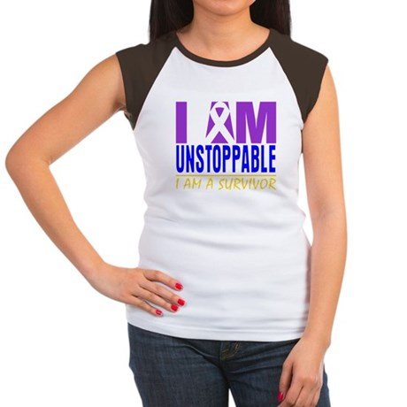 Unstoppable Bladder Cancer Women's Cap Sleeve T-Sh