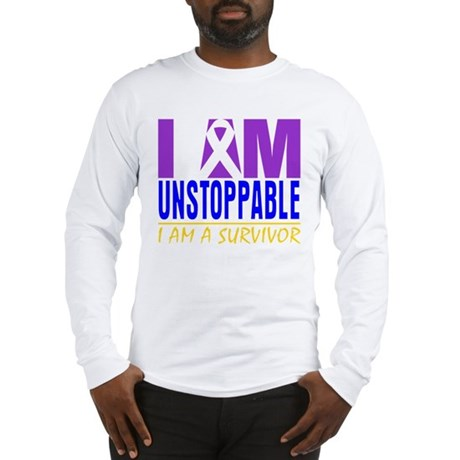 Unstoppable Bladder Cancer Long Sleeve T-Shirt