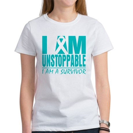 Unstoppable Cervical Cancer Women's T-Shirt