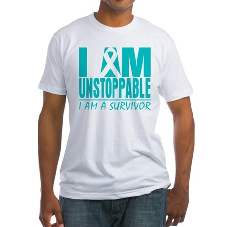 Unstoppable Cervical Cancer Fitted T-Shirt