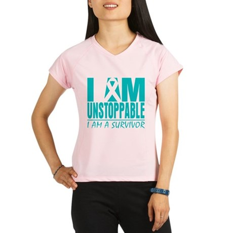 Unstoppable Cervical Cancer Performance Dry T-Shir