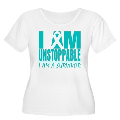 Unstoppable Cervical Cancer Women's Plus Size Scoo