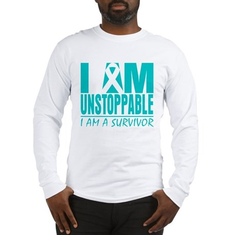 Unstoppable Cervical Cancer Long Sleeve T-Shirt