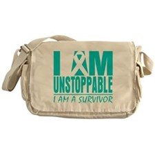 Unstoppable Cervical Cancer Messenger Bag