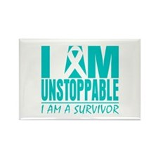 Unstoppable Cervical Cancer Rectangle Magnet (100