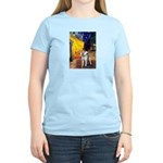 Cafe - Shiba Inu (std) Women's Light T-Shirt