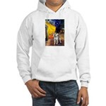 Cafe - Shiba Inu (std) Hooded Sweatshirt
