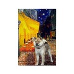 Cafe - Shiba Inu (std) Rectangle Magnet (10 pack)