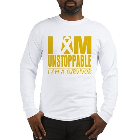 Unstoppable Childhood Cancer Long Sleeve T-Shirt