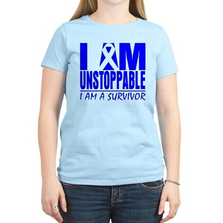 Unstoppable Colon Cancer Women's Light T-Shirt