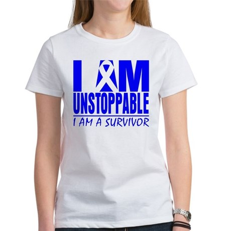 Unstoppable Colon Cancer Women's T-Shirt