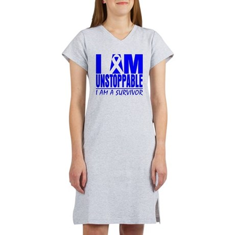 Unstoppable Colon Cancer Women's Nightshirt